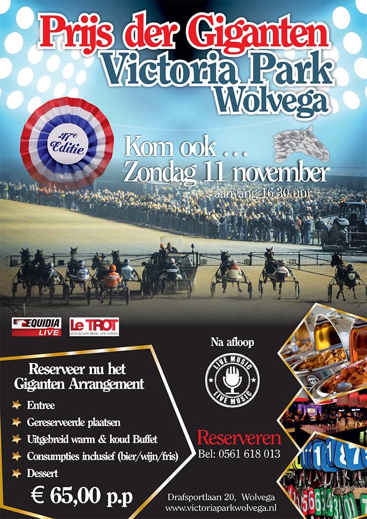 Victoria Park Wolvega - Prijs der Giganten